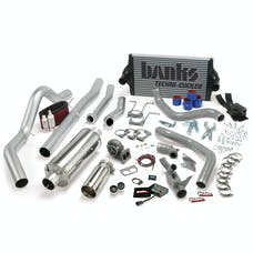 Banks Power 46356 PowerPack System; Single Exh; S/S-Chrome Tip-1994-97 Ford 7.3L; CCLB; Auto