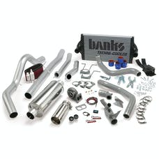 Banks Power 46361 PowerPack System; Single Exh; S/S-Chrome Tip-1994-97 Ford 7.3L; CCLB; Man