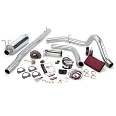 Banks Power 47416 Stinger-Plus System; Single Exh; S/S-Chrome Tip-1999 Ford 7.3L F450/550; Auto
