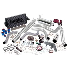 Banks Power 47421 Powerpack System; Single Exh; S/S-Chrome Tip-1999 Ford 7.3L F450/550; Auto
