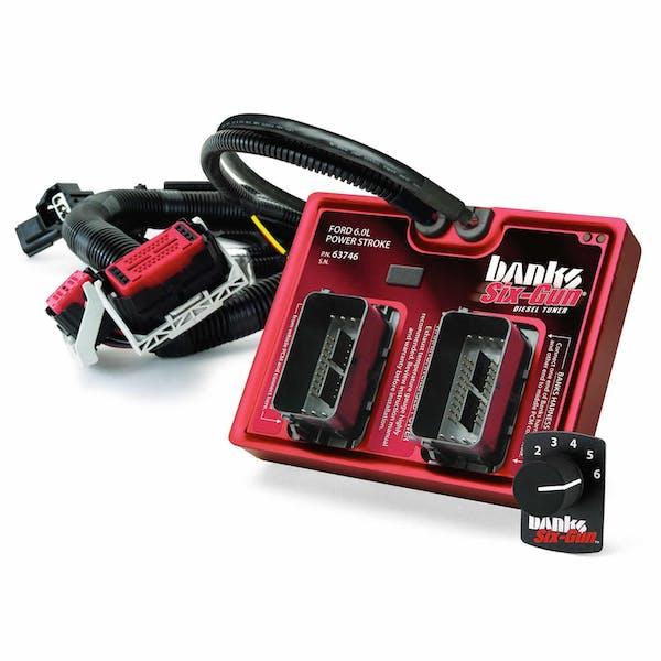 Banks Power 61023 Six-Gun Diesel Tuner; W/Switch-2003-07 Ford 6.0L