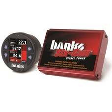 Banks Power 61414 Six-Gun Diesel Tuner w/Banks iDash-1.8-06-07 Chev 6.6L; LLY-LBZ