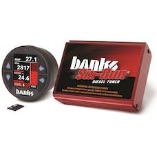 Banks Power 61442 Six-Gun Diesel Tuner w/Banks iDash-1.8 DataMonster-2004-05 Chevy 6.6L; LLY