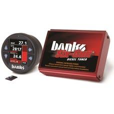Banks Power 61446 Six-Gun Diesel Tuner w/Banks iDash-1.8 DataMonster-07-10 Chev 6.6L; LMM
