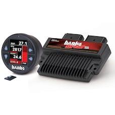 Banks Power 61452 Six-Gun Diesel Tuner w/Banks iDash-1.8 DataMonster-2008-10 Ford 6.4L