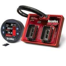 Banks Power 61454 Six-Gun Diesel Tuner w/Banks iDash-1.8 DataMonster-03-07 Frd 6.0 Trk/03-06 Excrs