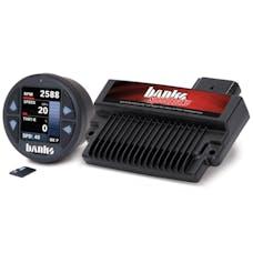 Banks Power 61461 Banks Speedbrake; w/Banks iDash-1.8 DataMonster-2004-05 Chevy 6.6L; LLY