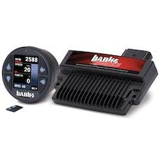 Banks Power 61462 Banks Speedbrake; w/Banks iDash-1.8 DataMonster-2006-07 Chevy 6.6L; LLY-LBZ