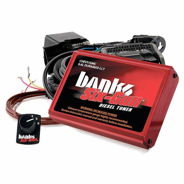 Banks Power 63717 Six-Gun Diesel Tuner; W/Switch-2004-05 Chevy 6.6L; LLY