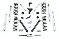 BDS Suspension 448H 4in Front/3.5in Rear Spring - Jeep Grand Cherokee