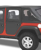 Bestop 51799-35 Jeep Wrangler JKU Full 2-Piece Fabric Doors