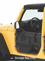 Bestop 51813-35 Jeep Wrangler JK Element Door Storage Panels