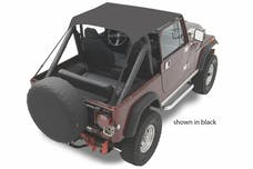 Bestop 52508-04 Jeep CJ7/Scrambler/Wrangler YJ Traditional Bikini Top