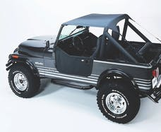 Bestop 52508-09 Jeep CJ7/Scrambler/Wrangler YJ Traditional Bikini Top