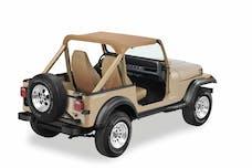 Bestop 52519-37 Jeep Wrangler YJ Strapless Standard Targa Style Bikini Top