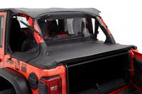 Bestop 90035-35 Jeep Wrangler JK/JKU Duster Deck Cover