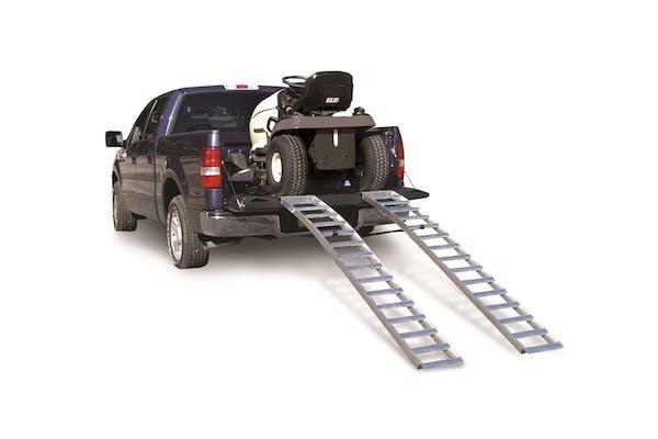 Better Built 25712183 Aluminum Solid Arched Loading Ramp (Pair) (750lb Each)-95 SR