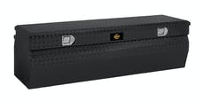 "Brandit APCTB55WB 55"" Chest Box Wedge Toolbox (Black Powder Coated Aluminum Finish)"
