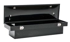 "Brandit APSTB70B 70"" Single Lid Standard Crossover Toolbox (Black Powder Coated Aluminum Finish)"
