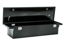 "Brandit APSTB70LPB 70"" Single Lid Low Profile Deep Crossover Toolbox (Black Powder Coated Finish)"