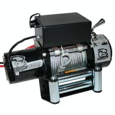 Bulldog Winch 10004 6000lb Winch with Roller Fairlead