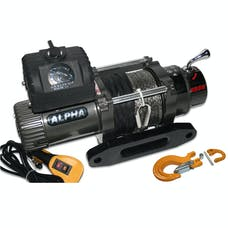 Bulldog Winch 10009 8288 Comp Winch w/Synthetic Rope