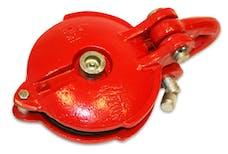 """Bulldog Winch 20027 Snatch Block 24k BS, 9k WLL, 5"""" wheel, zerk"""