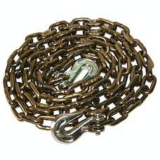 "Bulldog Winch 20076 5/16"" x 10' Chain, G70 with choker hooks"