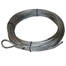 "Bulldog Winch 20109 Wire Rope, 10002 21/64"" x 100' (8.3mm x 30.5m)"