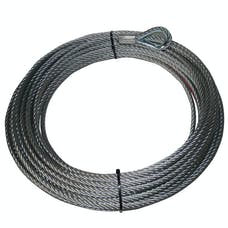"Bulldog Winch 20202 Wire Rope 10027 3/8"" x 85' (9.5mm x 25m)"