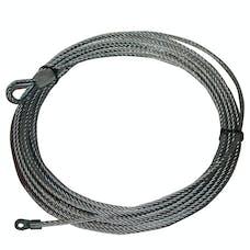 "Bulldog Winch 20213 Wire Rope 10029 9/32"" x 55' (7.2mm x 16.8m)"