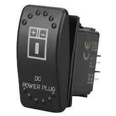 Bulldog Winch 20319 Rocker Switch - DC Power Plug