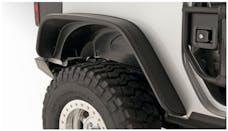Bushwacker 10052-07 Flat Style Jeep Fender Flares, 2pc