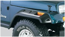 Bushwacker 10057-07 Cut-Out Style Jeep Fender Flares, 2pc