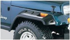 Bushwacker 10057-07 Cut-Out Style Jeep Fender Flares, 2pc