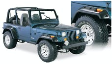 Bushwacker 10909-07 Cut-Out Style Jeep Fender Flares, 4pc