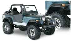 Bushwacker 10910-07 Cut-Out Style Jeep Fender Flares, 4pc