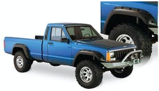 Bushwacker 10912-07 Cut-Out Style Jeep Fender Flares, 4pc