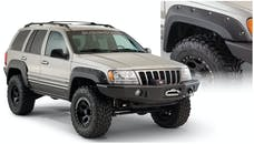 Bushwacker 10926-07 Cut-Out Style Jeep Fender Flares, 4pc