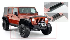 Bushwacker 14012 Trail Armor Rocker Panel and Sill Plate Covers, Black