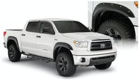 Bushwacker 30911-02 Pocket Style Fender Flares, 4pc
