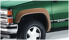 Bushwacker 40013-01 Extend-A-Fender Style Fender Flares, 2pc