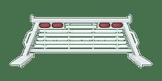 B&W Towing PUCP7501WA Cab Protector, White
