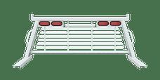 B&W Towing PUCP7520WA Cab Protector, White