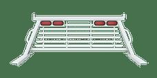 B&W Towing PUCP7522WA Cab Protector, White