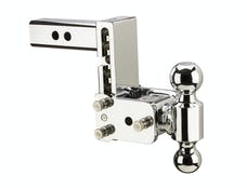 B&W Towing TS10037C B&W Tow And Stow Dual Ball 2 Adj Ball Mount 5 Drop/5-1/2 Rise, Chrome