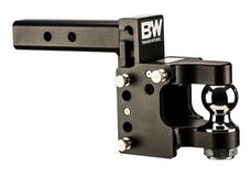 B&W Towing TS10055 8 Blk T&S, 2 Ball Pintle