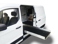 "Cargo Ease CE9548D1 1000 Lb Capacity,75% Extension, 16 Bearings, 4 Tiedown, 4"" Rails, Composite Deck"