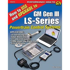 Cartech/SA Design SA255 How to Use and Upgrade to GM Gen III LS-Series Powertrain Control Systems
