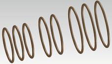 "Cometic Gasket C5486 Damper O-Ring Rebuild Kit. 7"" 3 Ring Design"